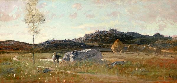 Summer Painting - Summer Landscape by Luigi Loir