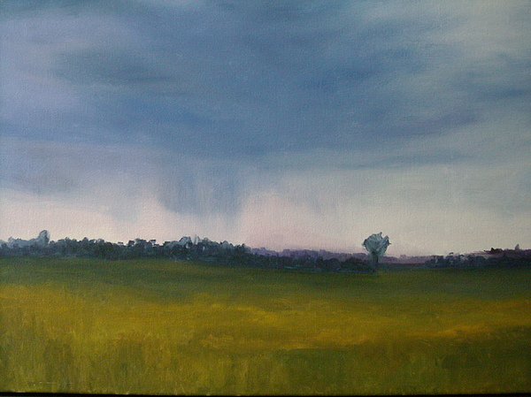 Summer Painting - Summer Rain by Margaret Farrar