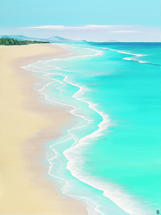 Seascapes Painting - Summer Rendezvous by Colin Perini