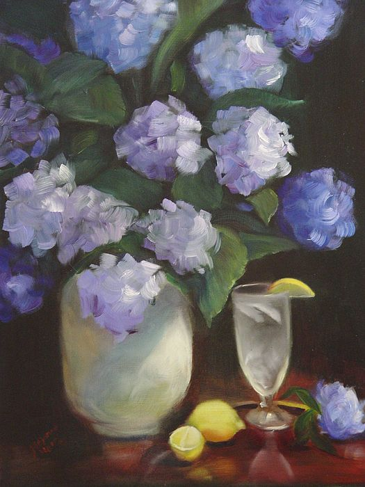 Summer Reprieve Painting by Melanie Miller Longshore
