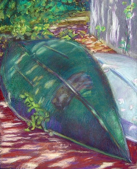 Summer Pastel - Summerime Overturned by Katherine  Berlin