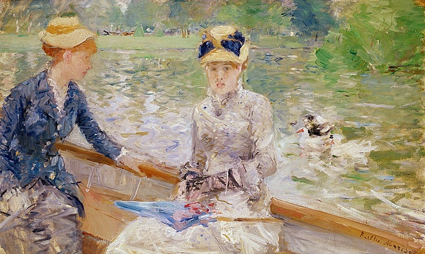 Summer Painting - Summers Day by Berthe Morisot