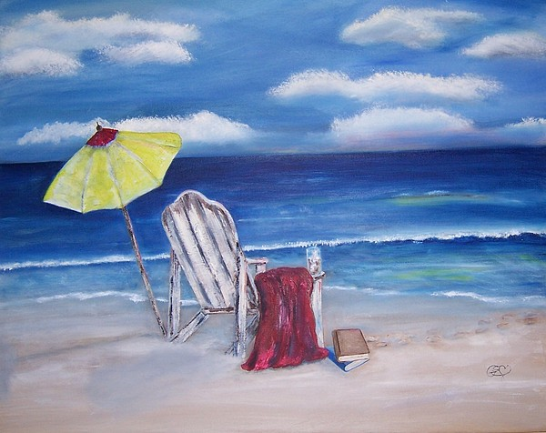 Landscape Painting - Summers Dream by Penny Everhart