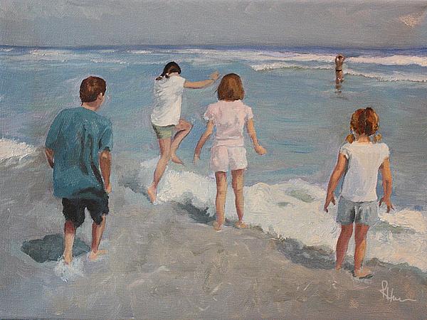 Waterscape  - Summertime by Rachel Hames
