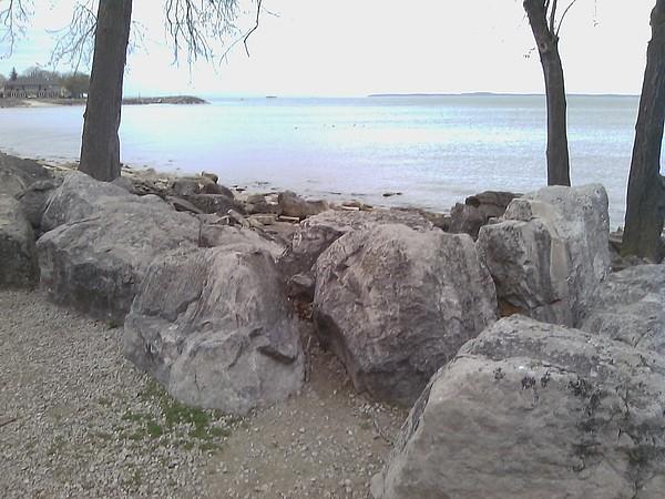 Lake Erie Mixed Media - Sun Lake by Jackie Bodnar