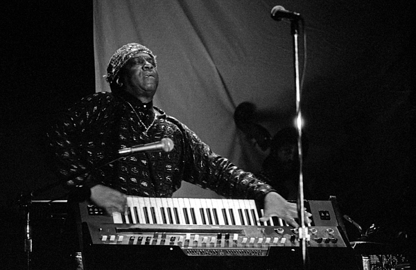 Sun Ra Photograph - Sun Ra 1 by Lee Santa