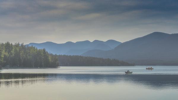Fishing Photograph - Sunday Morning Fishing by Chris Lord