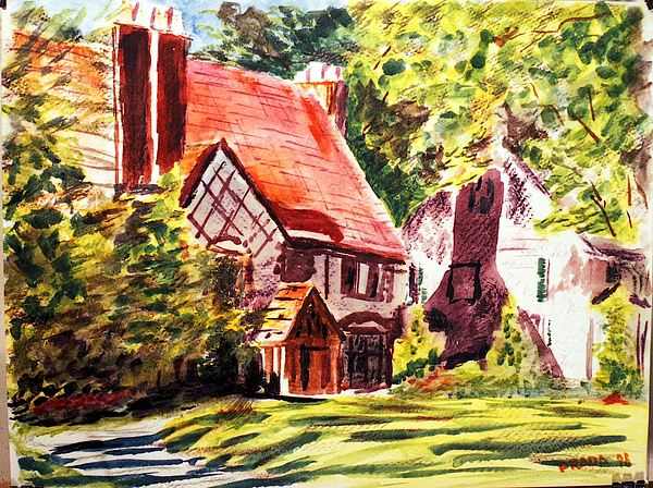 Architecture Painting - Sunday Morning On Forsyth by Horacio Prada