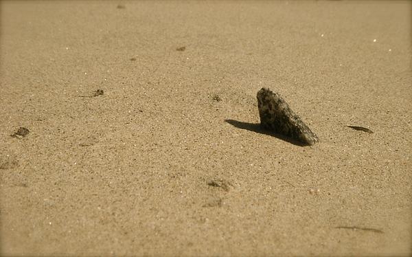 Beach Photograph - Sundial by Amy Strong