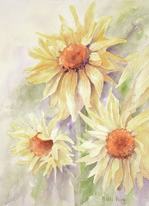 Sunflowers Painting - Sunflower Dreams by Bobbi Price
