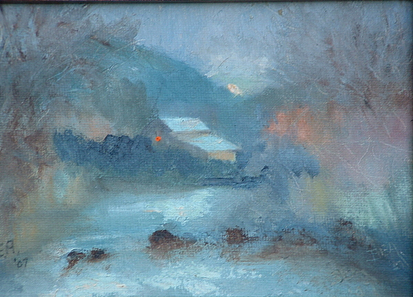 Landscape Painting - Sunrise ---sold by Bryan Alexander