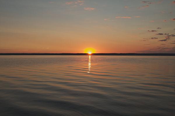 Sunrise Photograph - Sunrise On Seneca Lake by William Norton