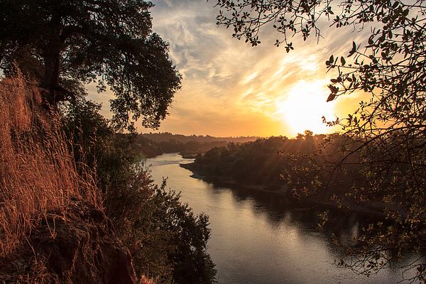 Sunrise Photograph - Sunrise Over Fair Oaks by Randy Wehner Photography