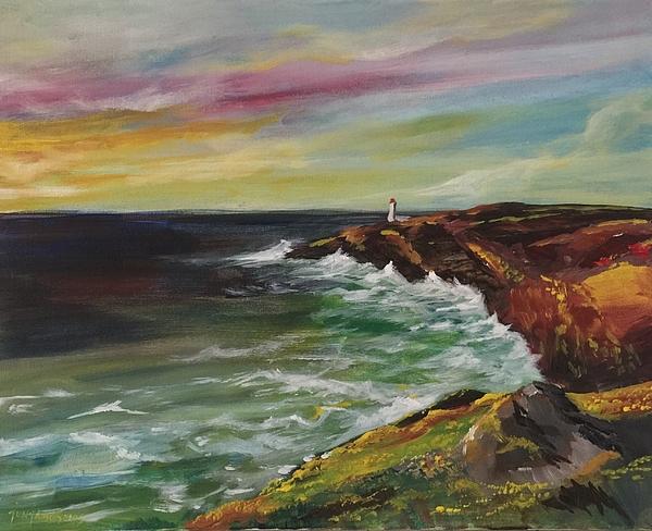 Sunrise Painting - Sunrise Viii by Jun Jamosmos