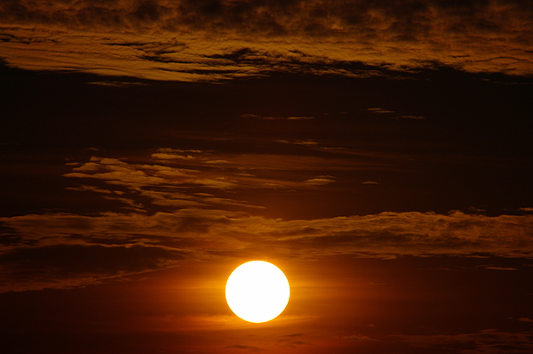 Sky Photograph - Sunset 5 by Don Prioleau