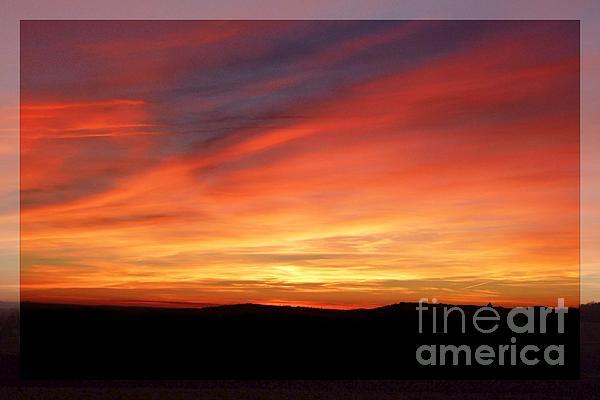 Absence Photograph - Sunset 9 by Jean Bernard Roussilhe