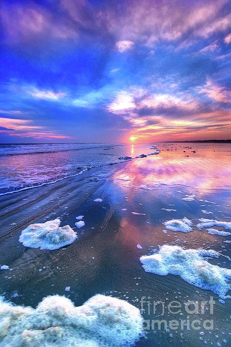 North Carolina Photograph - Sunset At Sunset by Dan Carmichael