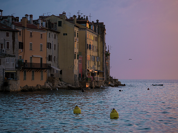 Rovinj Photograph - Sunset Colors by Rae Tucker