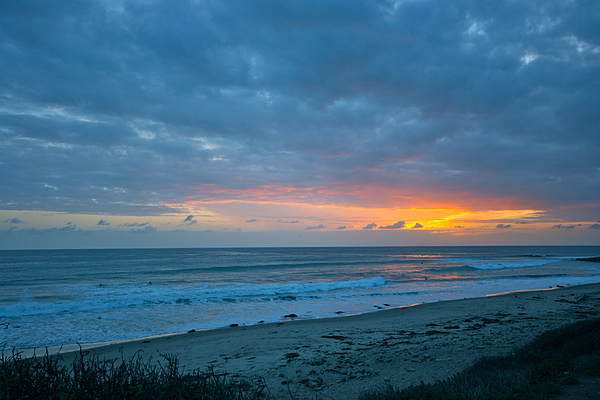 Sunset Photograph - Sunset County Line by Jeremy Stewart