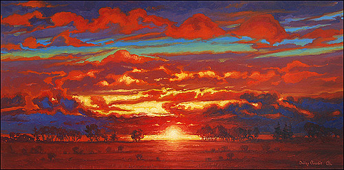 Sunset Painting - Sunset by Dmitry Oivadis