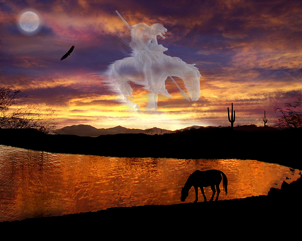 Horse Photograph - Sunset Dreams by Nadene Merkitch
