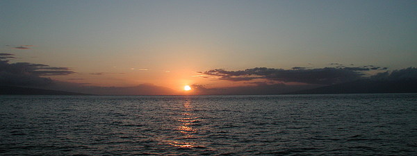Sunset Photograph - Sunset In Maui by Bj Hodges