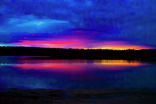 Sunset Photograph - Sunset by Kai-Ming Wong