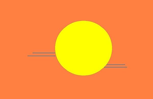 Sunset Digital Art - Sunset by Miller Scoville
