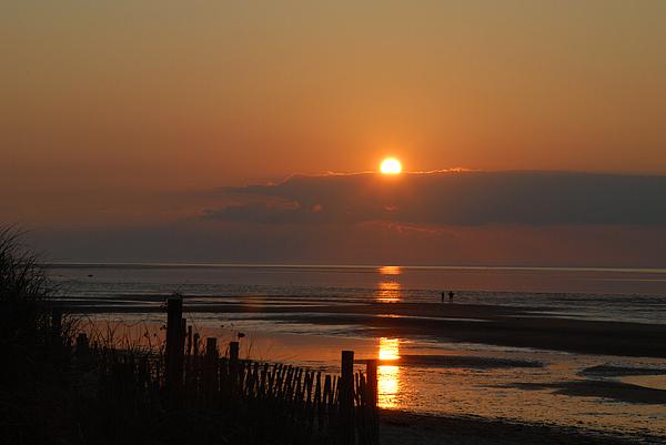 Sunset Photograph - Sunset On Cape Cod by Alana Ranney
