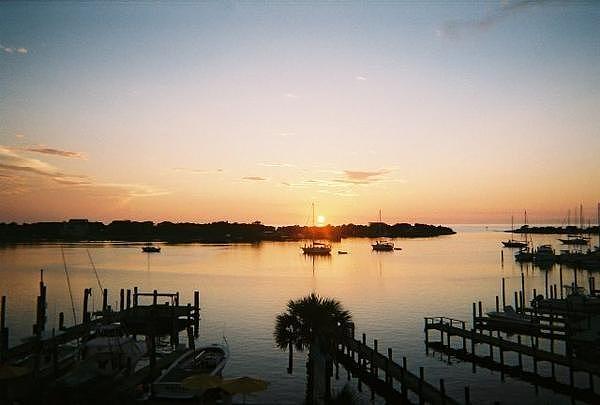Lake Photograph - Sunset On Silver Lake by Chelsea Jones