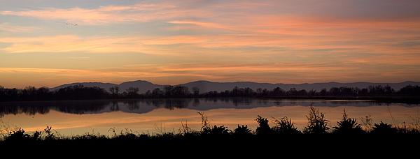 Sunset Photograph - Sunset On The Coast Range by Charlie Osborn