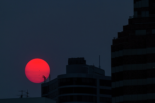 Sunset Photograph - Sunset Over The City Of Portland Oregon by David Gn