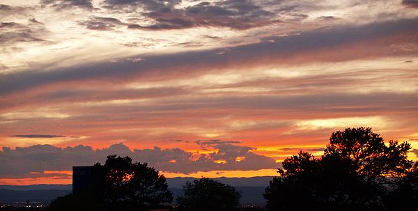 Sunset Photograph - Sunset Santa Fe by James Granberry