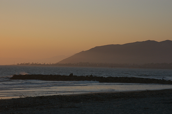 Ventura Photograph - Sunset View Over The Pacific Ocean by Stacy Gold