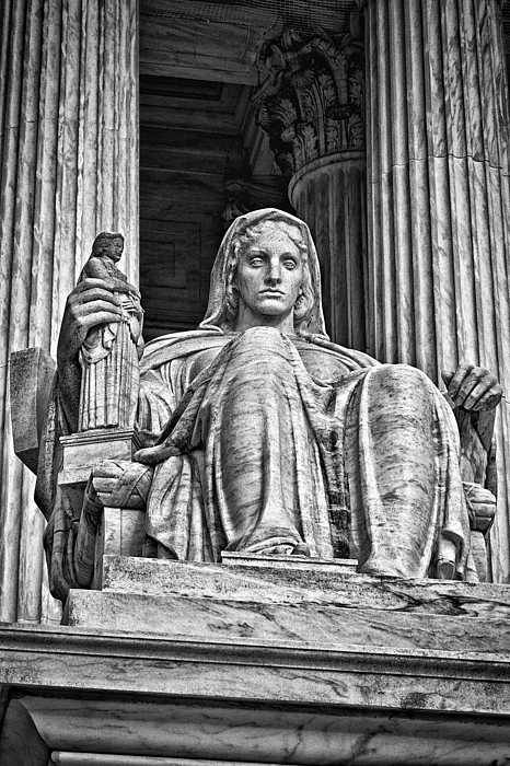 Black Russian Photograph - Supreme Court Building 13 by Val Black Russian Tourchin