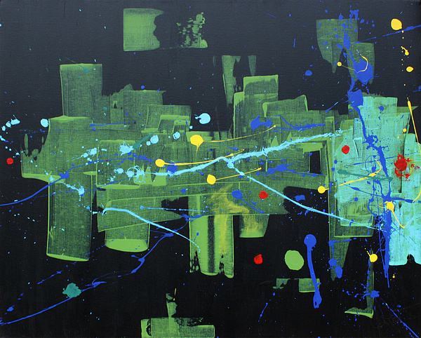 Contemporary Abstract Painting - Supreme Dominance by John Wesley
