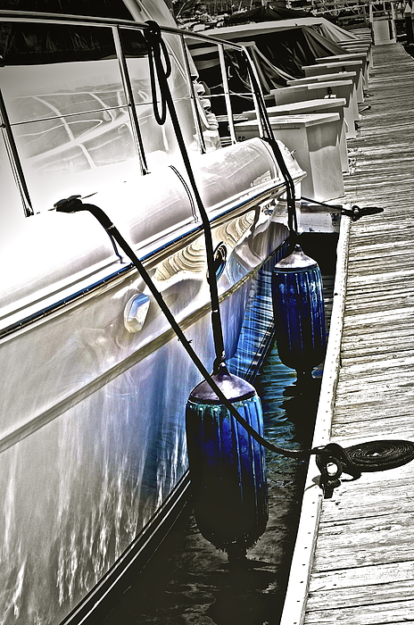 Boat Photograph - Sure-thing Boat by Gwyn Newcombe