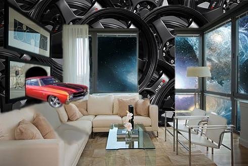 Living Room Digital Art - Surreal Living by Ryan Flanagan