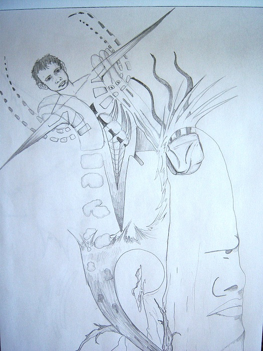 Surrealism Drawing - Surrealism by Harminder Paul