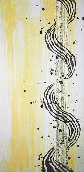Music Painting - Surround Sound by Amber Bambler Keller