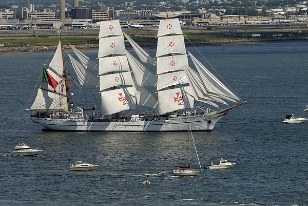 Ship Boat Photograph - Surrounded by Mimi Katz