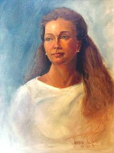 Portrait Painting - Susan In Summer by Jeanine Jackson