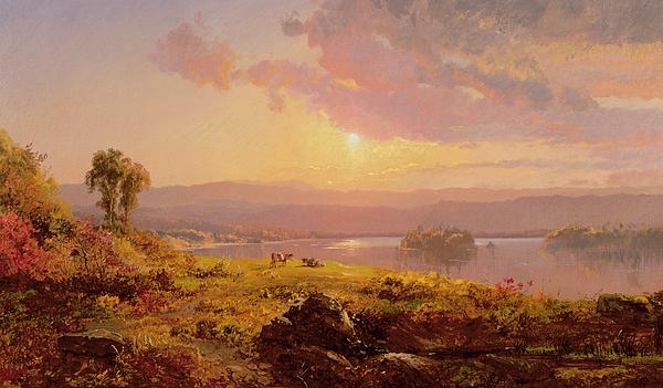Susquehanna River Painting - Susquehanna River by Jasper Francis Cropsey