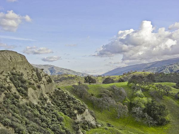 Landscape Photograph - Swallow Bay Cliffs by Karen  W Meyer