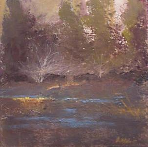 Swamp Painting by Dalas  Klein