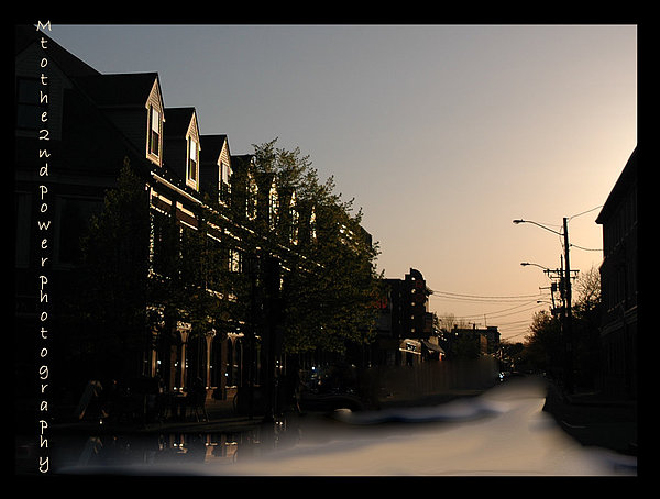 Sunset Photograph - Sweeping Street by Megen McAuliffe