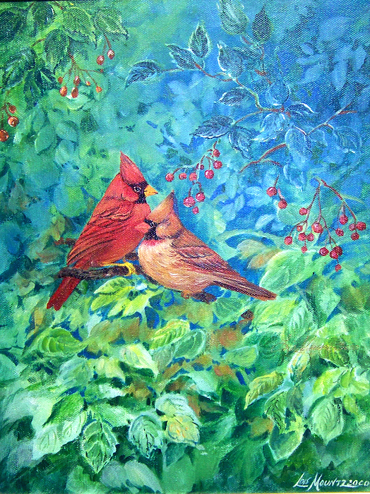 Sweet Contentment Painting by Lois Mountz