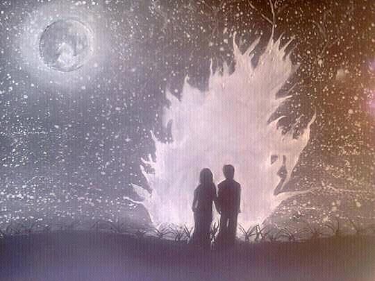 Sweet Couple Painting by Madhusudan Bishnoi