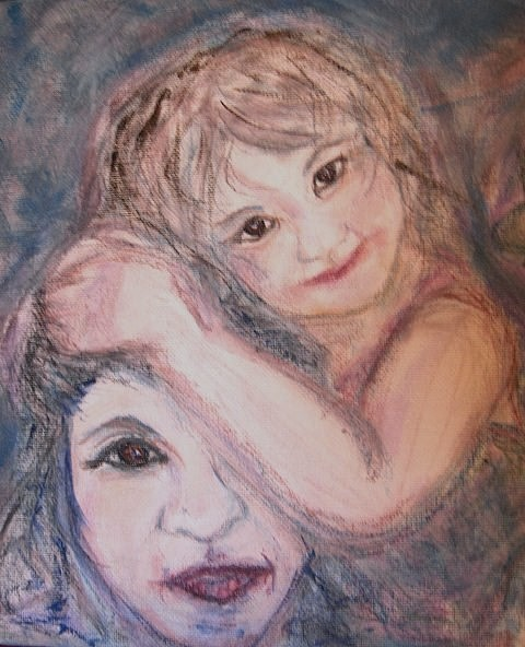 Portrait Drawing - Sweet Jesseka by Cathy Minerva