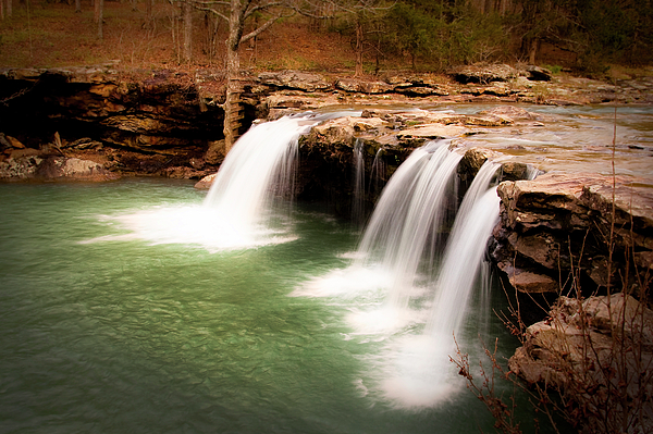 Waterfall Photograph - Swimming Hole by Tamyra Ayles